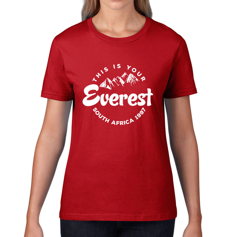 Women's This Is Your Everest Rugby Tee - First XV rugbystuff.com