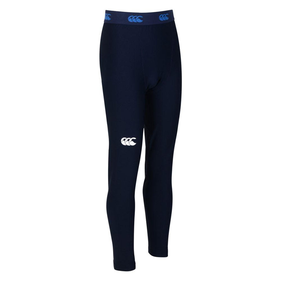 Kid's Thermoreg Baselayer Leggings Navy - First XV rugbystuff.com