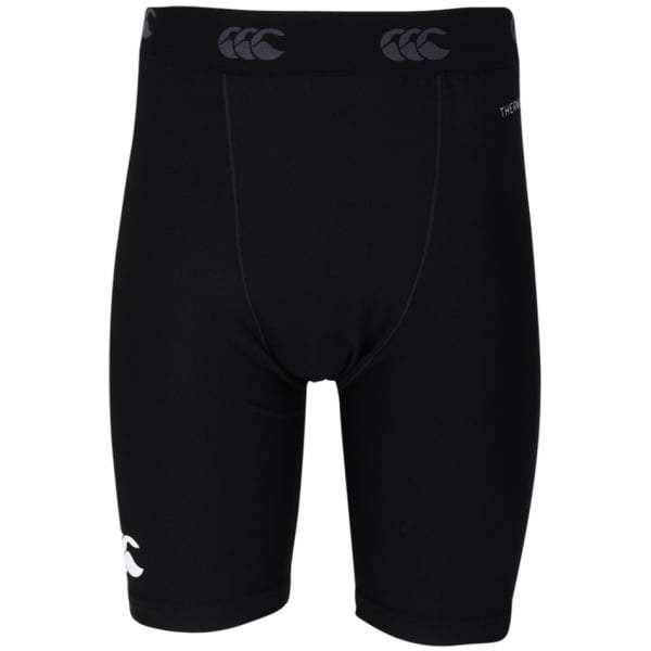 Kid's Thermoreg Baselayer Shorts Black