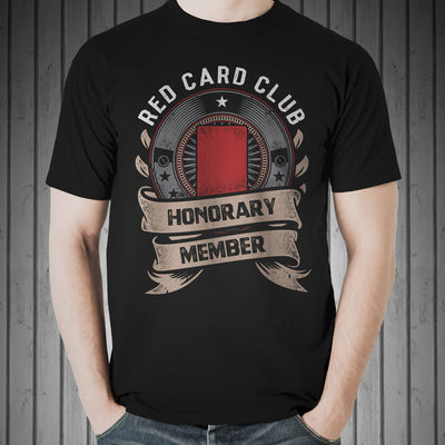 Red Card Club Rugby Tee - First XV rugbystuff.com