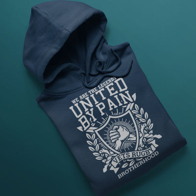Rugby Vets United By Pain Hoody - First XV rugbystuff.com