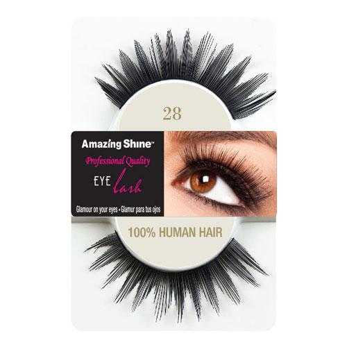 Amazing Shine Amazing Shine Human Hair False Eyelashes 28 - MUOBU