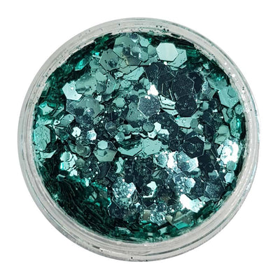MUOBU Biodegradable Mermaid Festival Glitter (Metallic Chunky Glitter Mix) - BioMermaid - MUOBU