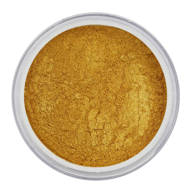 Vegan Eco-Friendly Mica Pigment Powder 42 - 18 Carat Gold