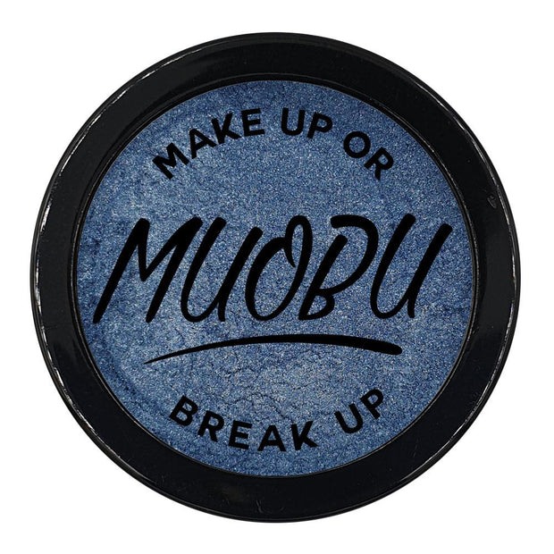 MUOBU Vegan Eco-Friendly Mica Pigment Powder 27 - Steel Blue - MUOBU