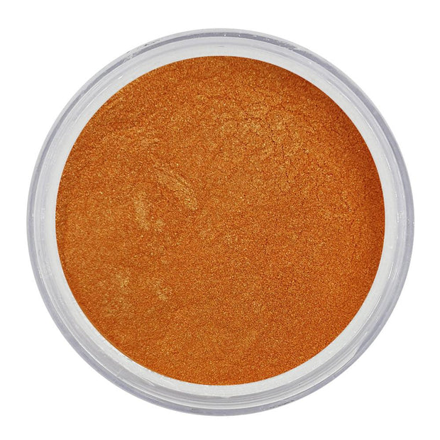 Vegan Eco-Friendly Mica Pigment Powder 63 - Metal Orange