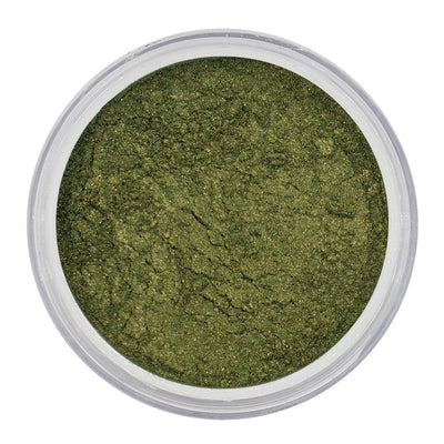 Vegan Eco-Friendly Mica Pigment Powder 45 - Earthy Green