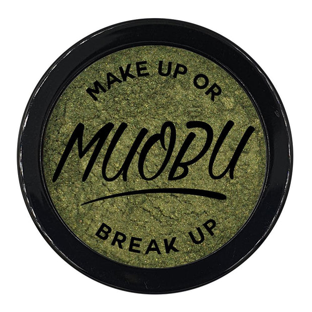 MUOBU Vegan Eco-Friendly Mica Pigment Powder 45 - Earthy Green - MUOBU