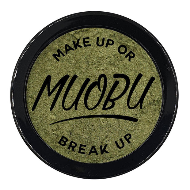 MUOBU Vegan Eco-Friendly Mica Pigment Powder 44 - Forest Gold - MUOBU