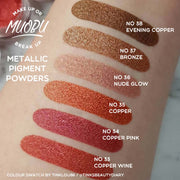 Vegan Eco-Friendly Mica Pigment Powder 34 - Copper Pink