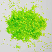 MUOBU Bright Green Chunky Glitter (Neon UV Glitter Mini Hexagons) - Green With Envy - MUOBU