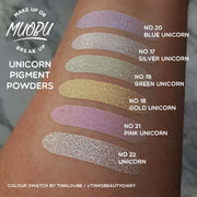 Vegan Eco-Friendly Mica Pigment Powder 20 - Blue Unicorn