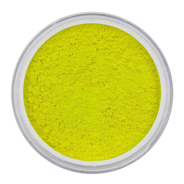 MUOBU Vegan Eco-Friendly Mica Pigment Powder 01 - UV Electric Yellow - MUOBU