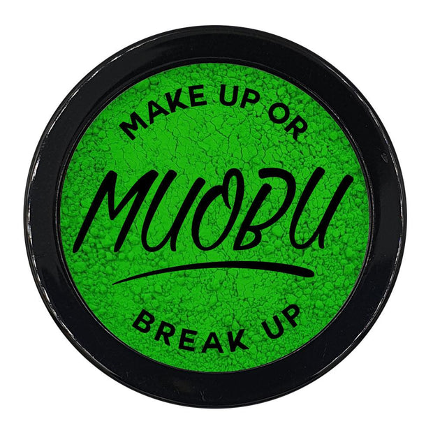 MUOBU Vegan Eco-Friendly Mica Pigment Powder 04 - UV Green - MUOBU