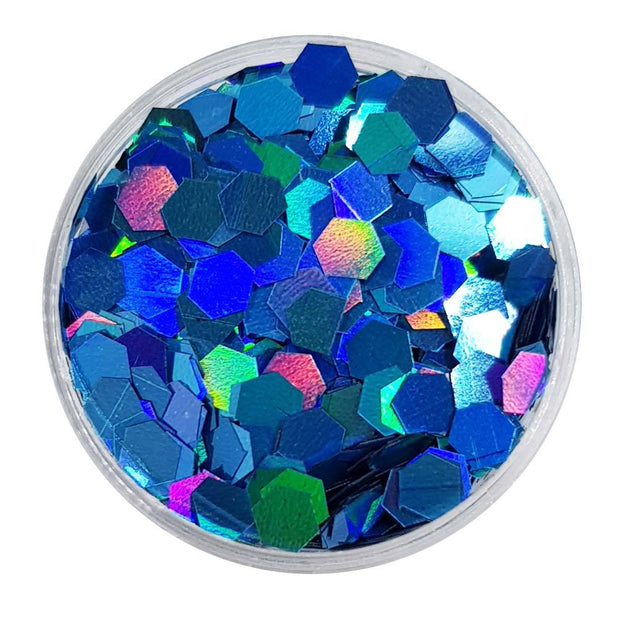 MUOBU Mermaid Large Flake Glitter (Metallic Glitter Hexagons) - Yet Another Mermaid - MUOBU
