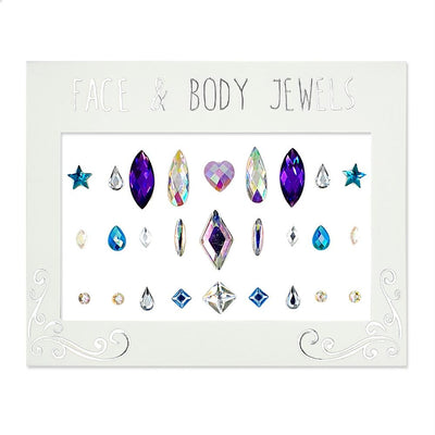 MUOBU Festival Face Jewels & Gems Set - A Girl's Best Friend - MUOBU