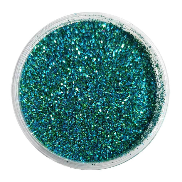 MUOBU Biodegradable Blue & Green Glitter (Fine Metallic Glitter) - BioAqua - MUOBU