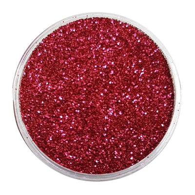 MUOBU Biodegradable Blush Red Glitter (Fine Metallic Glitter) - BioBlushing Bride - MUOBU