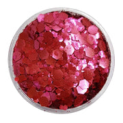 MUOBU Biodegradable Blush Red Festival Glitter (Metallic Chunky Glitter Mix) - BioBlush - MUOBU