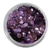 MUOBU Biodegradable Lilac Festival Glitter (Metallic Chunky Glitter Mix) - BioFlower Power - MUOBU