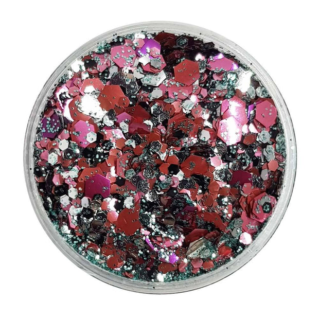 MUOBU Biodegradable Mixed Festival Glitter (Metallic Chunky Glitter Mix) - BioMars - MUOBU