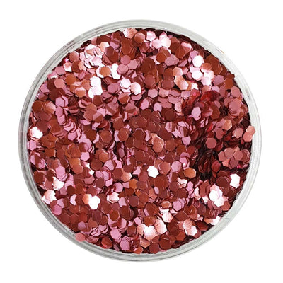 MUOBU Biodegradable Pink Glitter (Mini Hexagon Metallic Glitter) - BioBarbie - MUOBU