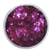 MUOBU Biodegradable Purple Festival Glitter (Metallic Chunky Glitter Mix) - BioPassion - MUOBU