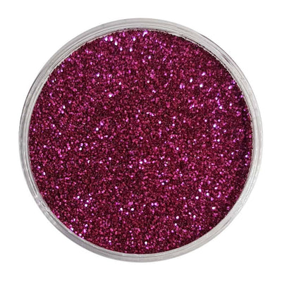 MUOBU Biodegradable Raspberry Red Glitter (Fine Metallic Glitter) - BioRaspberry - MUOBU