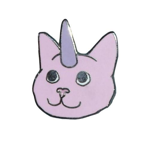 MUOBU Unicorn Cat Enamel Festival Pin - MUOBU