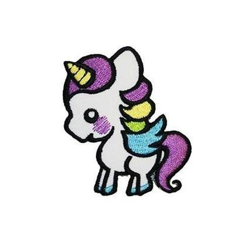MUOBU Cute Unicorn Iron-On Festival Patch - MUOBU