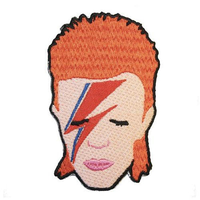 MUOBU David Bowie Iron-On Festival Patch - MUOBU
