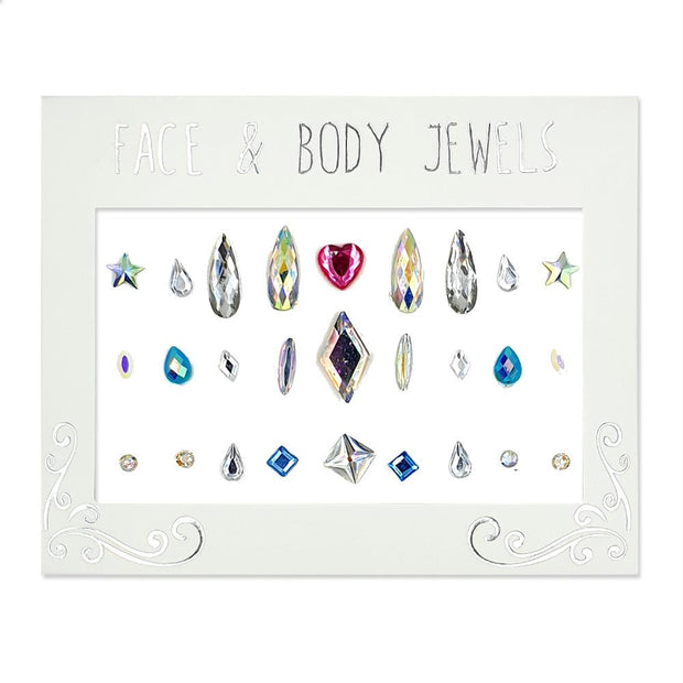 MUOBU Festival Face Jewels & Gems Set - Face Diamonds Are Forever - MUOBU