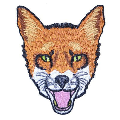 MUOBU Fox Iron-On Festival Patch - MUOBU