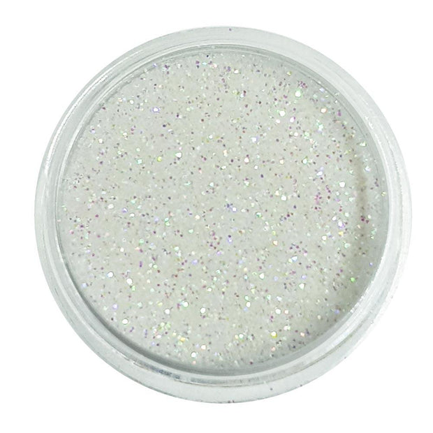 Fresh Snow - White Iridescent Loose Fine Glitter