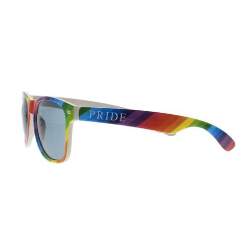 MUOBU Gay Pride Rainbow Wayfarer UV400 Sunglasses - MUOBU