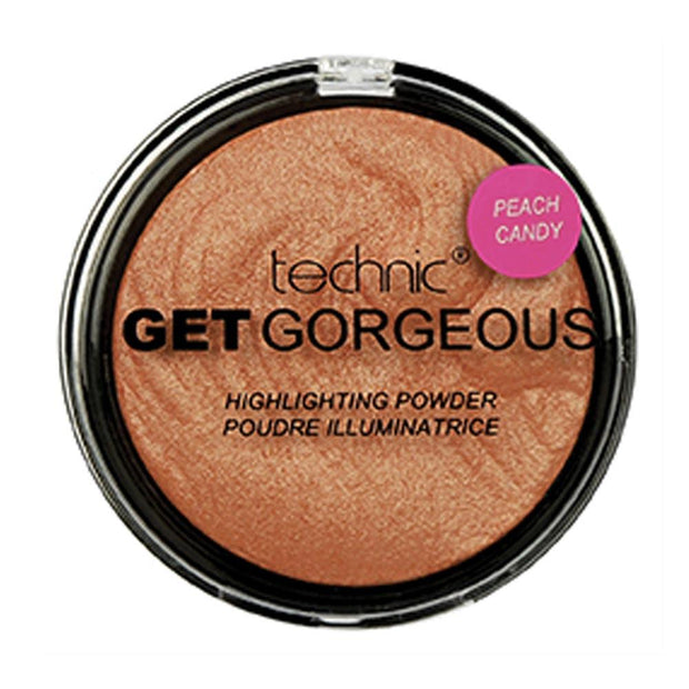 Technic Technic Get Gorgeous Highlighter - Peach Candy - MUOBU
