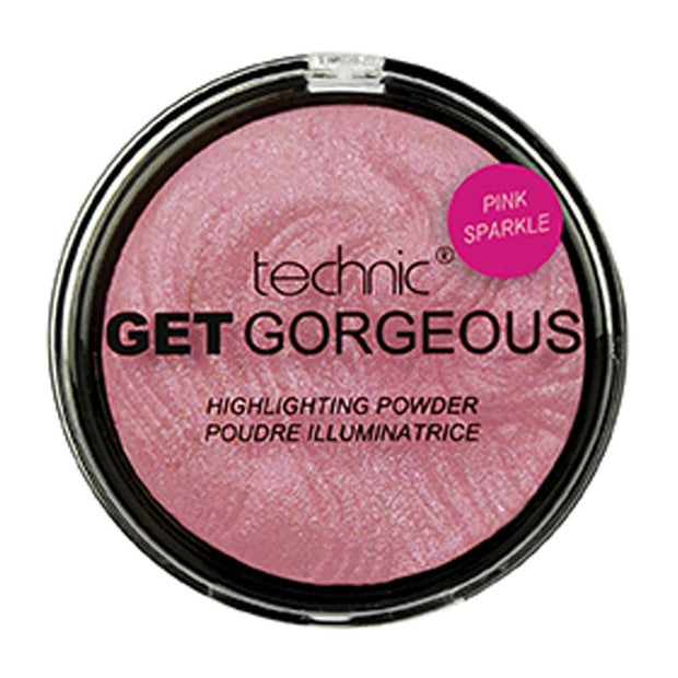 Technic Technic Get Gorgeous Highlighter - Pink Sparkle - MUOBU