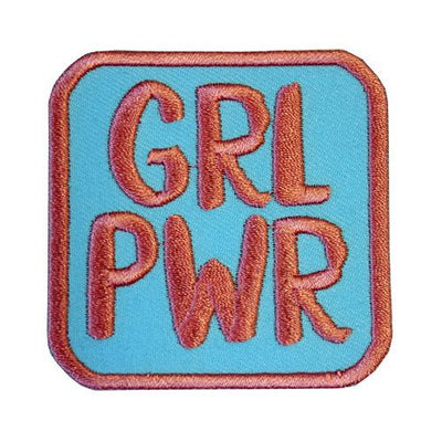 MUOBU Girl Power Iron-On Festival Patch - MUOBU