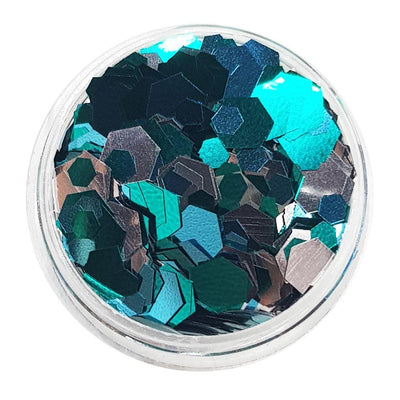 MUOBU Mermaid Festival Glitter (Metallic Chunky Glitter Mix) - Mermaid Scales - MUOBU