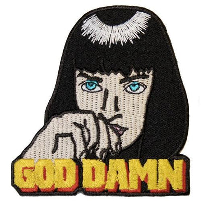 MUOBU Mia Wallace Iron-On Festival Patch - MUOBU