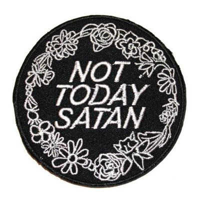 MUOBU Not Today Satan Bianca Del Rio Iron-On Patch - MUOBU