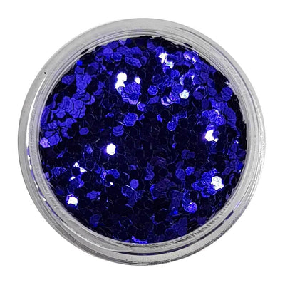 MUOBU Dark Blue Chunky Glitter (Metallic Glitter Mini Hexagons) - Octo Puss - MUOBU