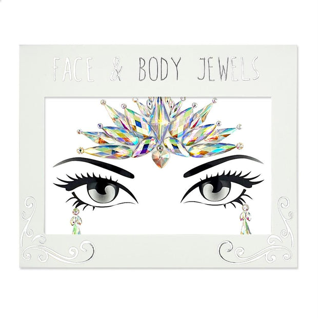 MUOBU Festival Face Jewels Set - Glitz Iridescent - MUOBU