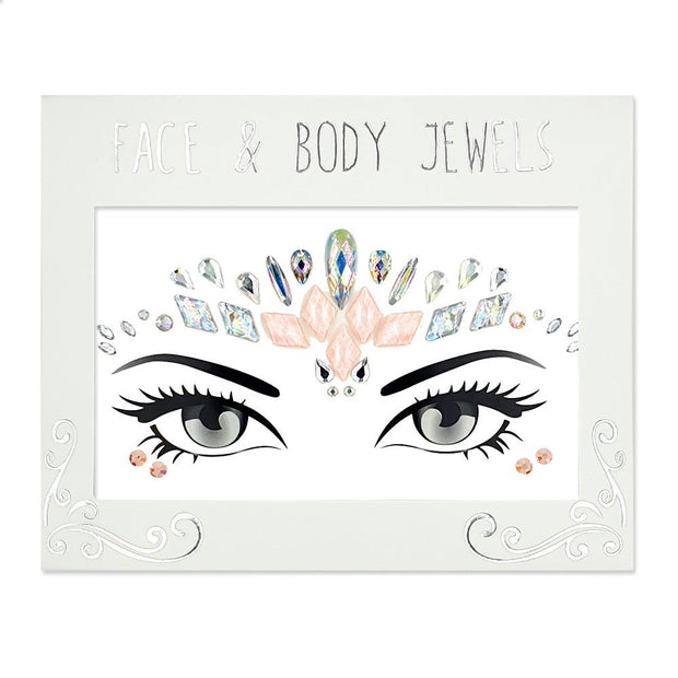 MUOBU Festival Face Jewels Set - Pink Goddess - MUOBU