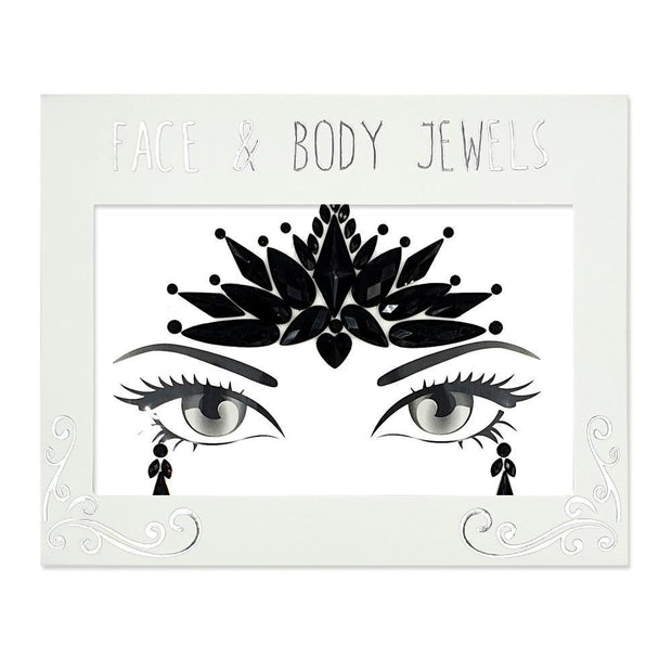 MUOBU Festival Face Jewels Set - Glitz Black - MUOBU