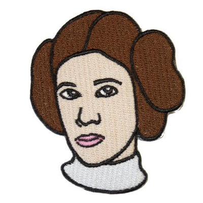 MUOBU Princess Leia Iron-On Festival Patch - MUOBU