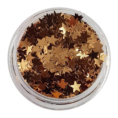 MUOBU Rose Gold Glitter Stars (Metallic Glitter Stars) - The Moon & Back - MUOBU