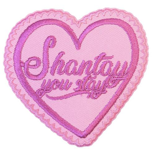 MUOBU Rupaul Shantay You Stay Iron-On Festival Patch - MUOBU
