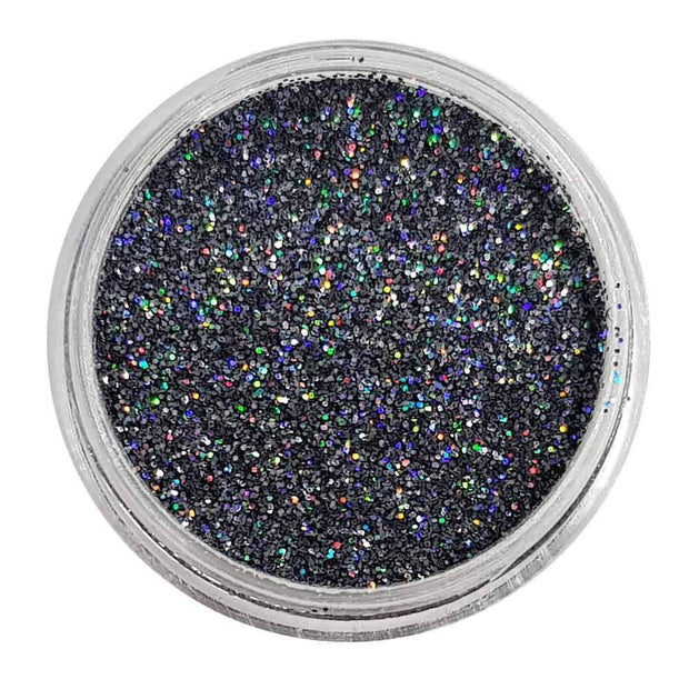 MUOBU Grey Glitter (Fine Holographic Glitter) - She Got Slated - MUOBU