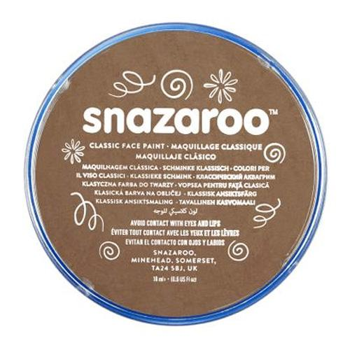 Snazaroo Face & Body Paint - Beige Brown